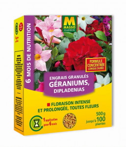 Engrais géraniums granulés 500g