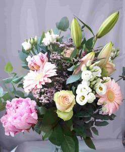 Bouquet romantique champêtre